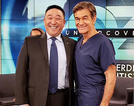 Dr.David Jin Personal Dentist of Dr. Oz Show